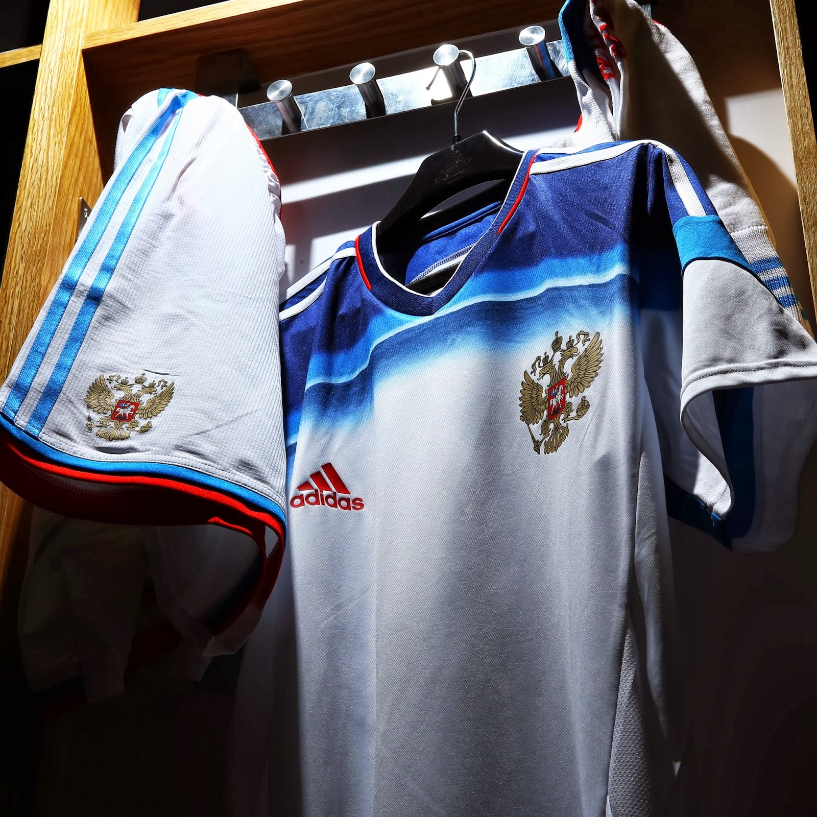 best service 8478a a7a7d adidas Presents New Russian National Football Team Away Kit ...