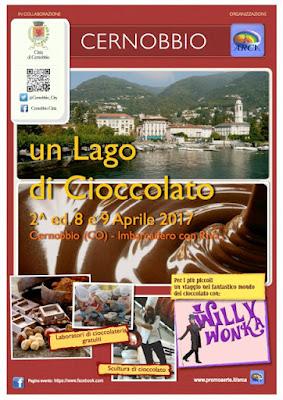 Un Lago di Cioccolato 8-9 aprile Cernobbio (CO) 2017