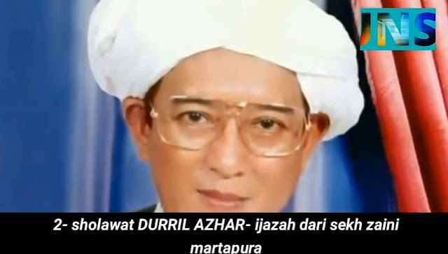 Sholawat DURRIL AZHAR - Ijazah dari Syekh Zaini Martapura