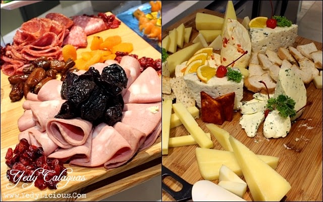 Cold Cuts and Cheese Appetizers at Vikings Buffet SM Megamall