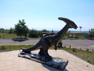 Регіональний ландшафтний парк «Клебан-Бик». Скульптури динозаврів