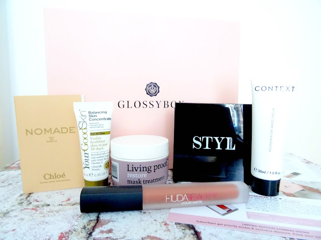 Glossybox - Beauty SOS Edition Contents