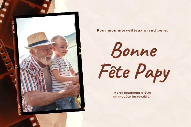 Bonne fête papy - textes et messages