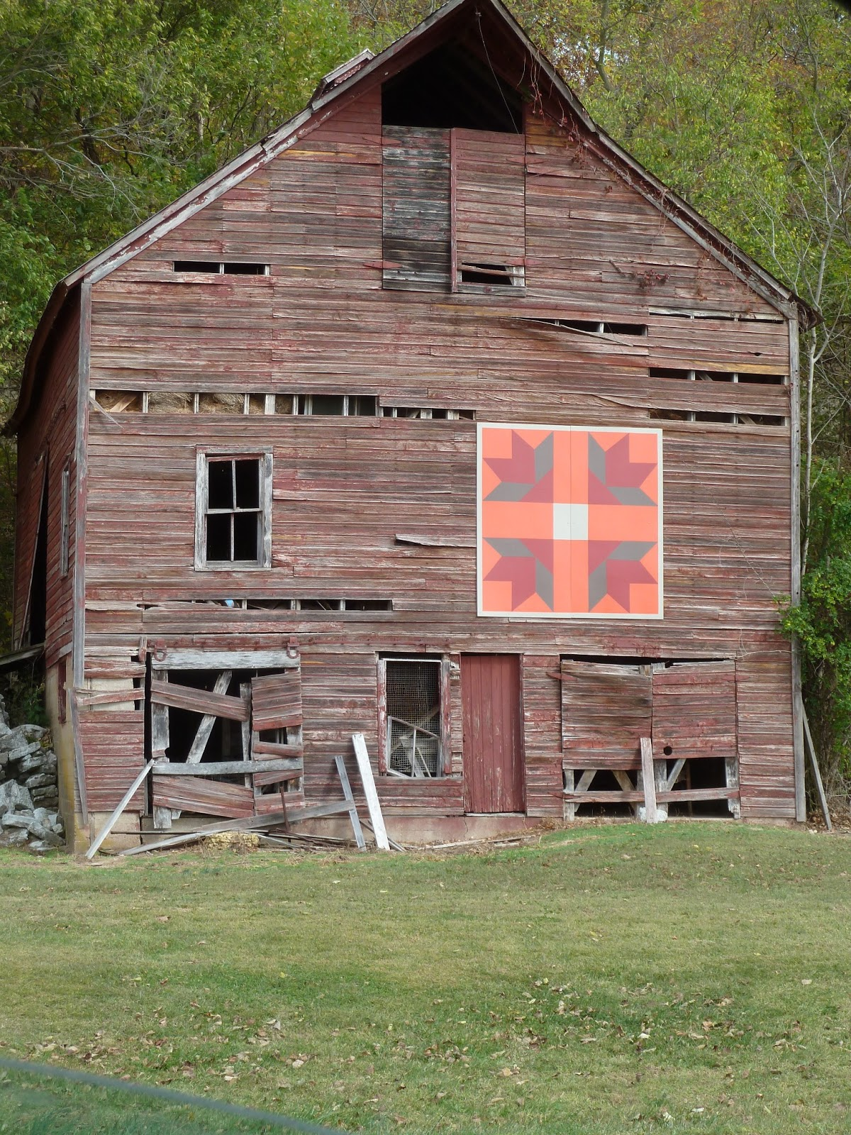 Barn Quilts Calhoun County Illinois