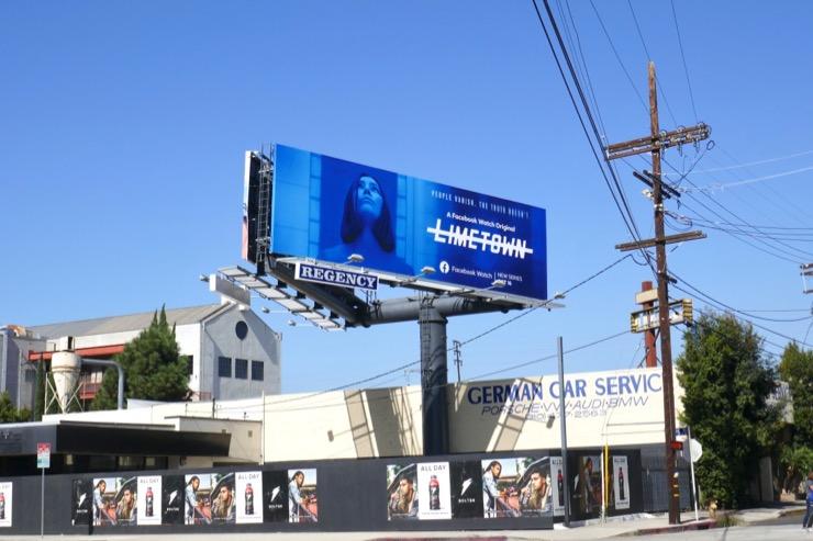 Limetown series premiere billboard