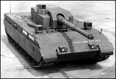 M1 Tank Test Bed (TTB) with Unmanned Turret
