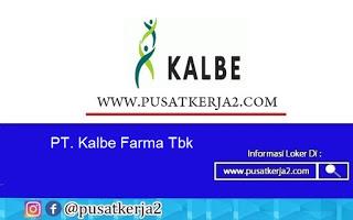 Lowongan Kerja PT Kalbe Farma Agustus 2020
