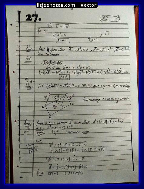 Vector Class 11 problems2