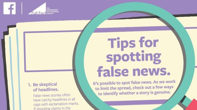 Facebook publishes fake news ads in UK papers