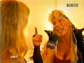 WWA - The Inception 2001 - Luna Vachon was mad at her husband