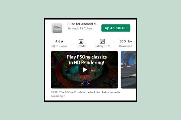 Emulator PS3 Android Offline Terbaik