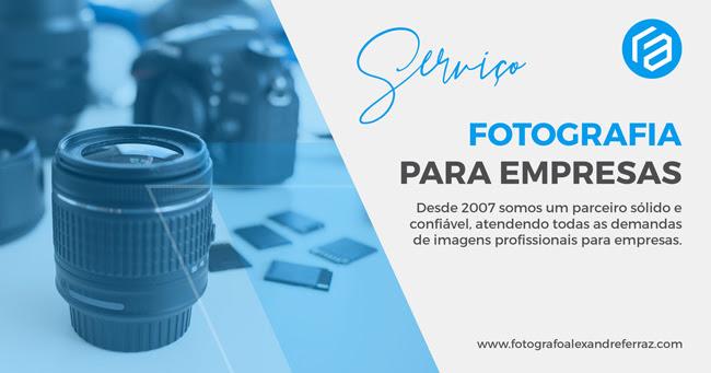 Fotografia para empresas