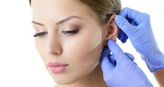 Ear keloid scar treatment