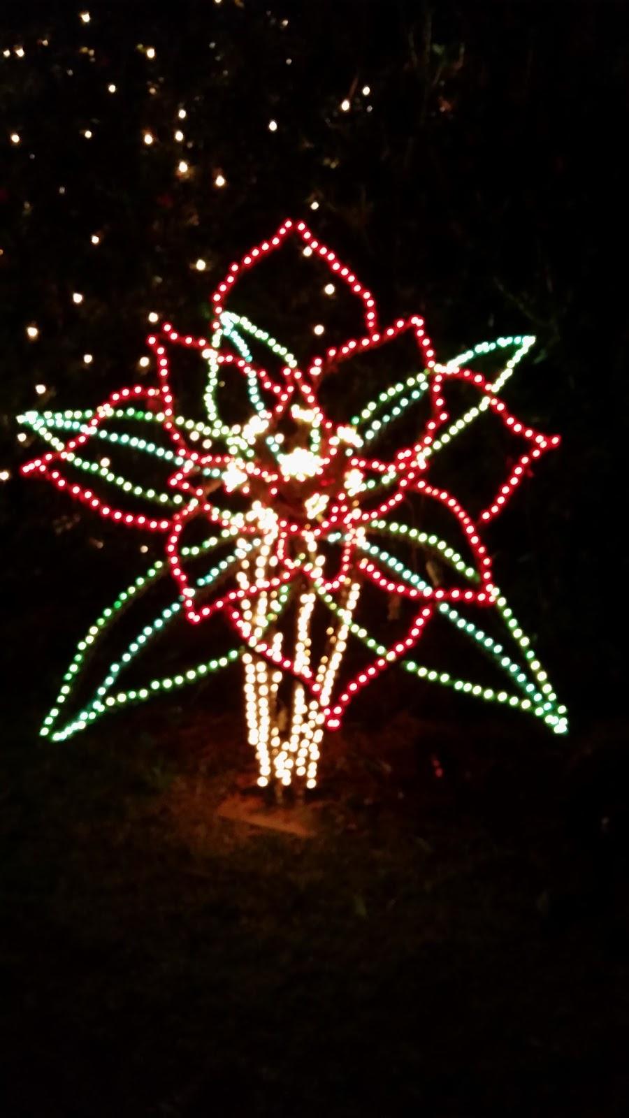 The Wandering Bunny Bellingrath Gardens Christmas Light Display