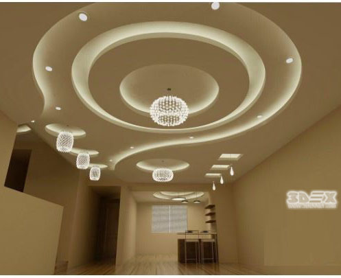 Latest Pop Ceiling Designs 2018: living hall design ideas