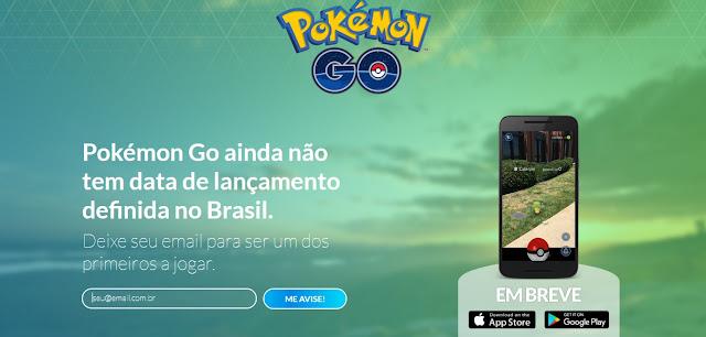 LANÇAMENTO do Pokémon GO no Brasil