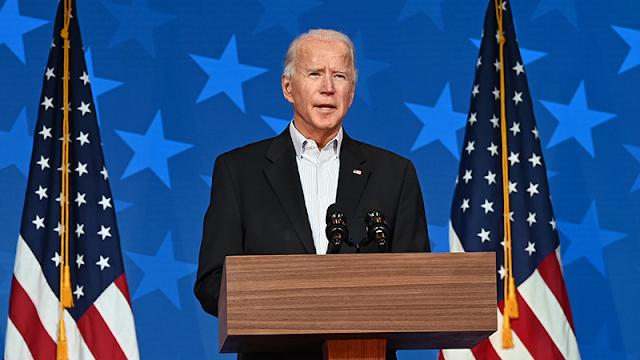 US President Joe Biden's offensive speech