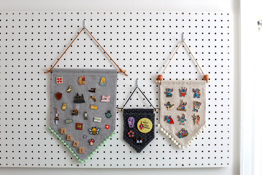 In Color Order: DIY Enamel Pin Banners: New Sizes Added!