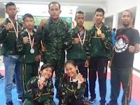 Dandim 0208/Asahan Letkol Inf Sri Marantika Beruh Bangga Atas Prestasi atlet karate Binaan Kodim 0208/Asahan