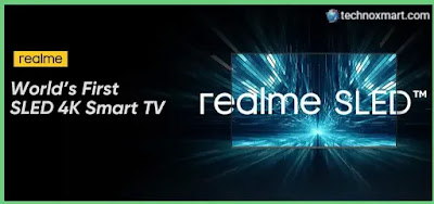 Realme Smart TV SLED 4K Price Suggested In India, Tipped To Launch Soon