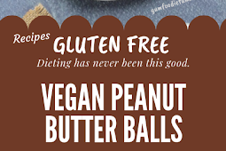 Vegan Peanut Butter Balls Gluten free #glutenfree