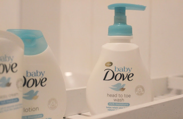 A review of Baby Dove Rich Moisture Head to Toe Wash