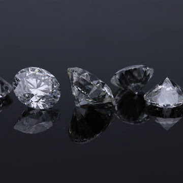 What is the source of the diamond mineral?