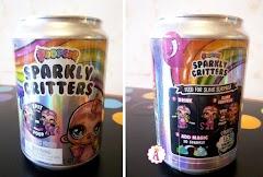 Распаковка жестяной банки газировки Poopsie Sparkly Critters серия 1: слайм и игрушка с рогом и ресничками