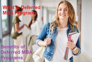 Deferred MBA Program