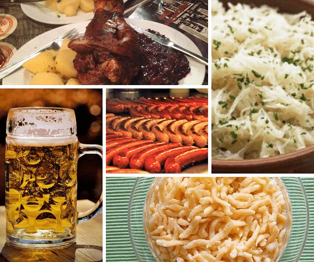 comida típica alemanha