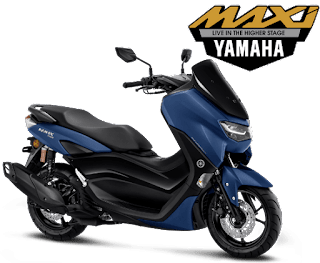 all new nmax connected biru