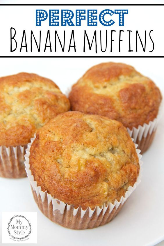 PERFECT BANANA MUFFINS #recipes #baking #bakingrecipes #food #foodporn #healthy #yummy #instafood #foodie #delicious #dinner #breakfast #dessert #lunch #vegan #cake #eatclean #homemade #diet #healthyfood #cleaneating #foodstagram