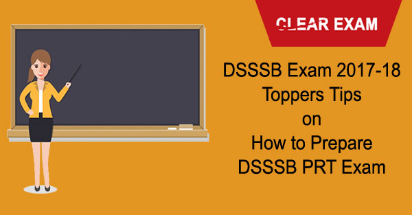 DSSSB PRT Teachers Exam
