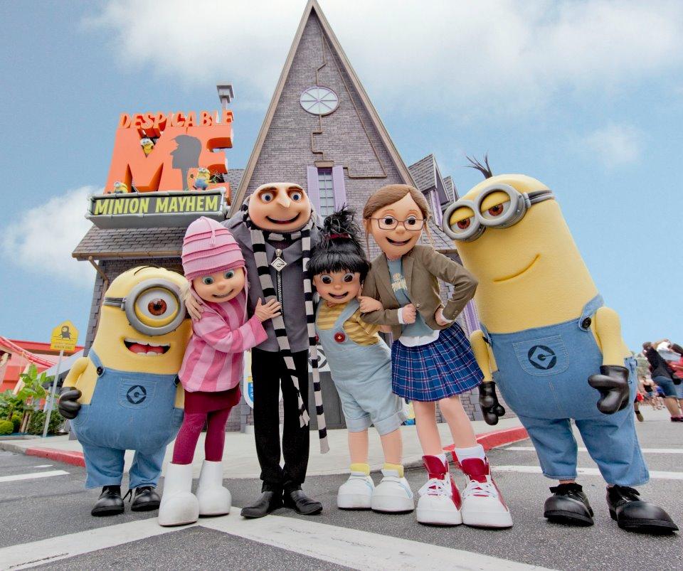 Disney Minions Despicable Me Minion Mayhem
