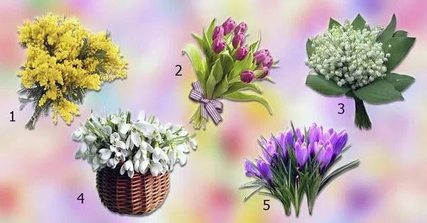 Выбери цветок и получи предсказание судьбы