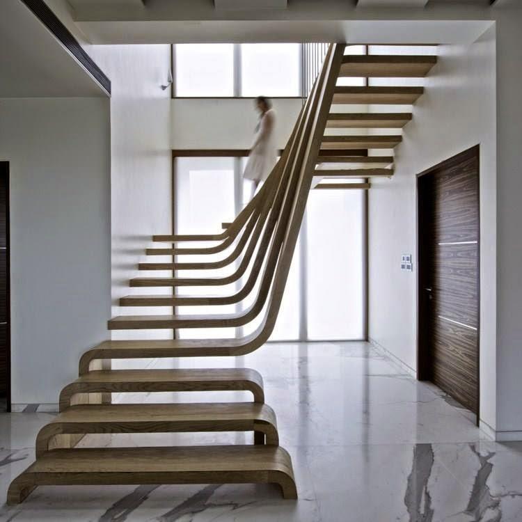 jack aime jack n 39 aime pas escalier design sans rampe. Black Bedroom Furniture Sets. Home Design Ideas