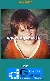 Soluzioni Guess the child footballer livello 7