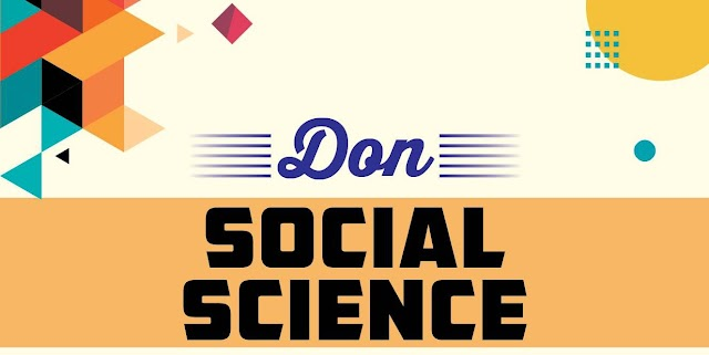 10ம் வகுப்பு Social Science பாடத்திற்கு Don நிறுவனம் வெளியிட்டுள்ள முழுமையான கையேடு English Medium
