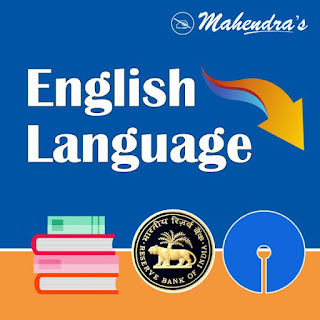 English Language Quiz For SBI / RBI Main Exam | 19-03-2020