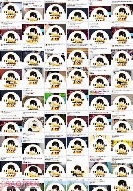 Hàng trăm ngàn fan hâm mộ đồng loạt đổi avatar mừng sinh nhật Jack, nhuộm vàng cả Facebook