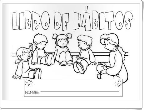 LIBRO DE HÁBITOS DE EDUCACIÓN INFANTIL