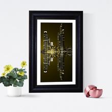 Monochrome-Sky-Scraper-Framed-Print-Wall-Frame-Art-PortHarcourt