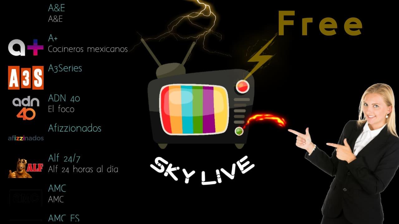 Sky-tv لأجلك فقط لتشاهد كل القنوات اللاتينية المجانية والمدفوعة ببلاش