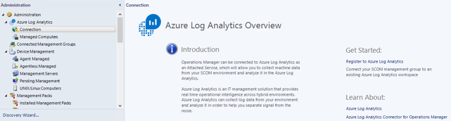 How to connect Operations Manager 2019 (SCOM) to Azure Log Analytics