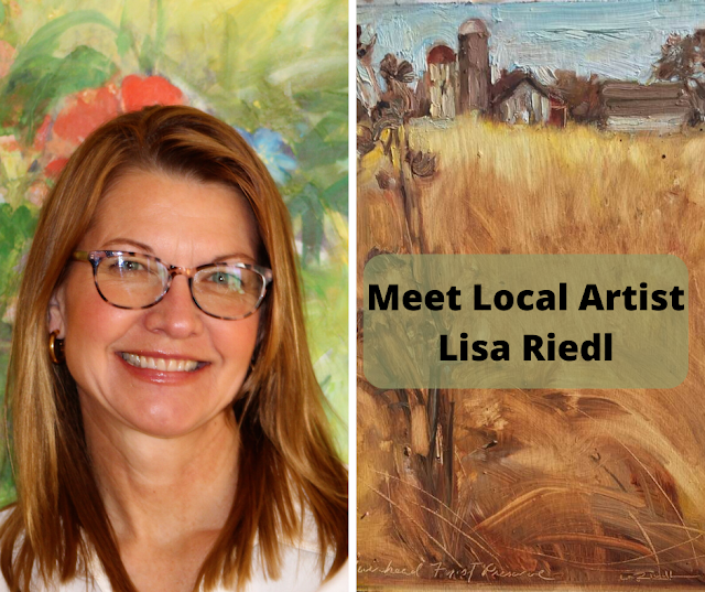 Meet Local Painter and Eco-Artist Lisa Marie Riedl