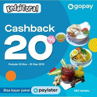 Bayar Pakai GoPay Cashback 20%