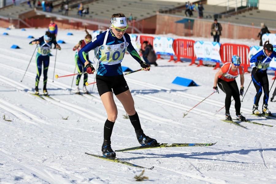 анна шевченко лыжные гонки казахстана фото