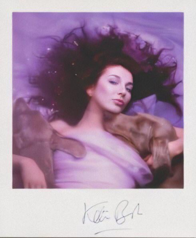 Some Polaroids From the Cover Shoot for Kate Bush's 1985 Album 'Hounds of Love'