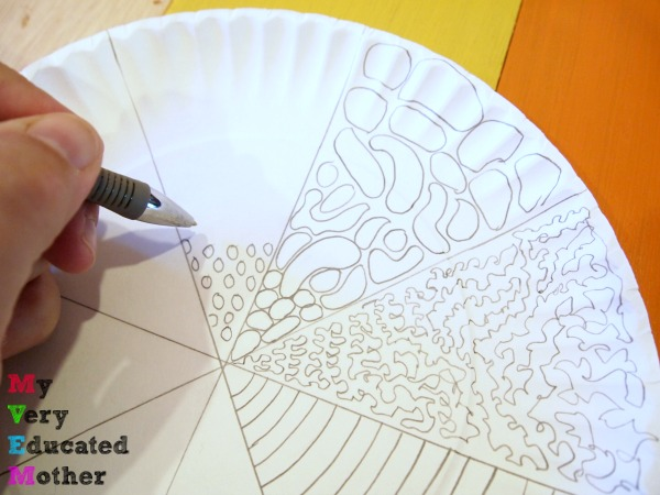 Paper Plate Kids Craft