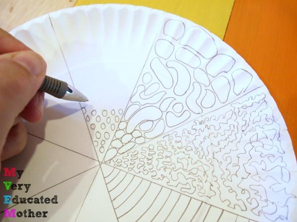 Paper Plate Kids Craft